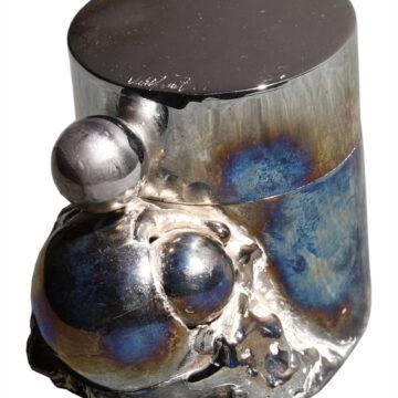 boite chrome un objet d'art par Alain Vuillemet