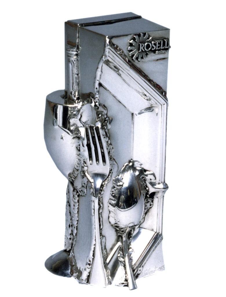 trophée Rosell par Alain Vuillemet sculpteur