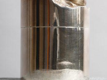 Boite cylindre œuvre par Alain Vuillemet