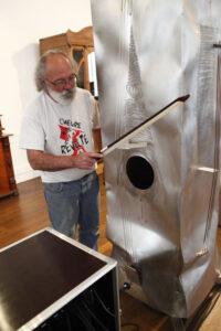 Le musée de l'Aventure et du Son présente une performance metallophonie par Alain Vuillemet, samedi 19 mai 2012