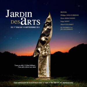 Jardin des Art 2011 La lune en colère, expositions Parc d'Ar Milin Châteaubourg