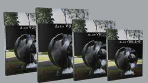 Le métal sublimé le livre sur oeuvre sculptée du sculpteur Alain Vuillemet