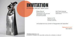 metallophonie® le carton d'invitation, exposition au musée