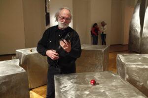 Nuit des musées les sculptures sonores et le contrôleur Karlax