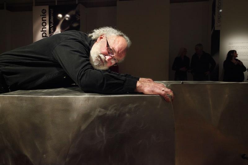 Portrait Métallophonique pour la performance sonore Creusot-Montceau