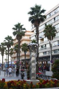 Sculpture ciel ouvert Canet 2014