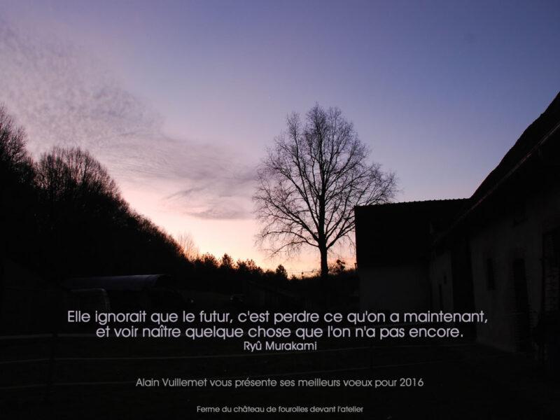 Vuillemet vœux 2016