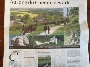 Au long du Chemin des Arts