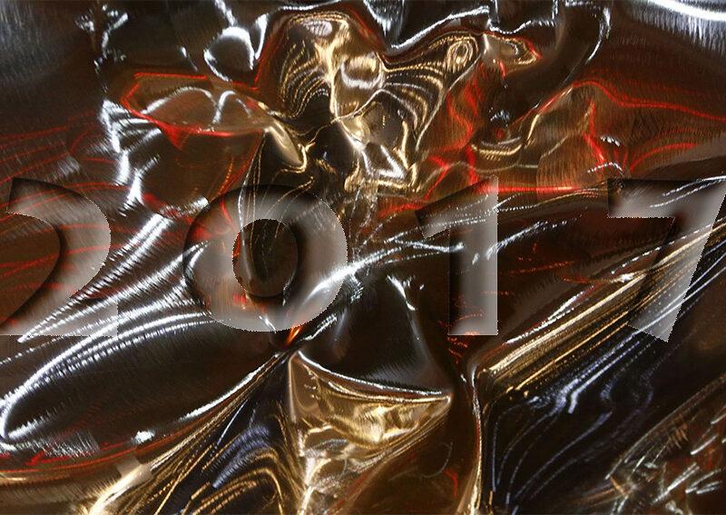 reflet inox détai ld'une sculpture réalisée en chaudronnerie d'inox