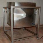 Sculpture sonore Hyper-cube le prototype