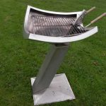 barbecue objet d'art sculpture 6