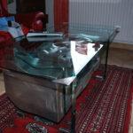 Table basse bunker détail 4 par Alain Vuillemet