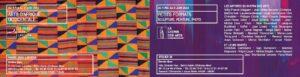 Le recto du carton d'invitation pour l'exposition de petits formats à l'atelier 19 de Saint-Aubin-Château-Neuf