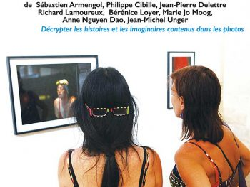 l'affiche des journées photographiques à l'atelier 19 de Saint-aubin-Château-Neuf