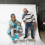 Mise en avant d'un comédien et d'un sculpteur