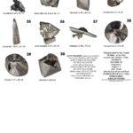Liste 2 et dimensions des 30 oeuvres exposées pour les portes ouvertes de l'Yonne 2019.Ces pièces sont toutes réalisées en chaudronnerie d'inox, ce sont des pièces uniques, signées, numérotées et fournis avec un certificat d'authenticité.