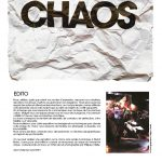 Le journal CHAOS une exposition décapante à Saint-Aubin-Château-Neuf la page de l'éditorial