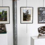 """Trois photos des oeuvres d'Alain Vuillemet par Philippe Cibille réalisées pour l'exposition """"Sculptures d'été"""" Arles 2009"""