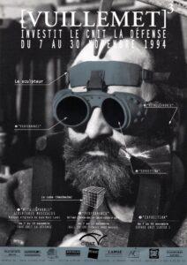 presse affiche-Cnit-1994 création de l'agence La compagnie