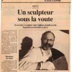 figaro-defense-15-11-1994 Un sculpteur sous la voûte