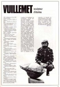 presse galerie-des-arts-190-1979 Vuillemet sculpteur d'étoiles