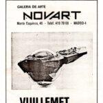 Galeria de arte Novart Vuillemet abril-mayo 81