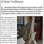 presse lejsl A la découverte des oeuvres d'Alain Vuillemet