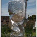 presse lejsl Autun Sculptures dans la ville le grand polyèdre
