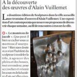 presse lejsl Autun Sculptures dans la ville le manteau de Job