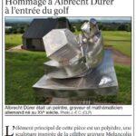 presse lejsl Autun Sculptures dans la ville Hommage à Albrecht Dürer