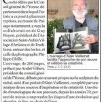 presse lejsl Autun Sculptures dans la ville Le livre sur le travail d'Alain Vuillemet Le métal sublimé