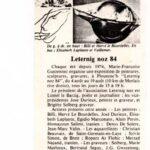 Leternig-noz-84-1984 exposition collective avec la participation d'Alain Vuillemet