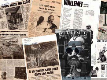 La presse parle du sculpteur Alain Vuillemet depuis plus de 40 ans