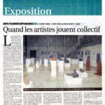 presse Yonne-Mag Exposition Quand les artistes jouent collectif