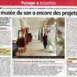 presse Yonne-Républicaine Le musée du son a encore des projets