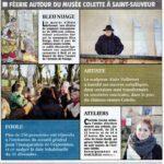 presse Yonne-Mag expositions féerie autour du musée Colette à Saint-Sauveur
