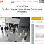 presse Yonne-Républicaine Neuf artistes exposent aux Cubes, aux Placeaux