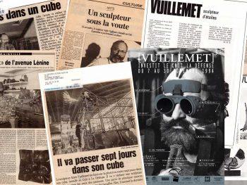 La presse artistique parle du sculpteur Alain Vuillemet