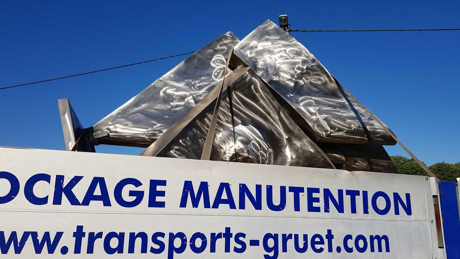 """Sérénade n°6 transport et manutention par la société Gruet Membre du réseau """"France Plâteaux"""