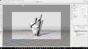 Sérénade n°6 etude maquette 3D