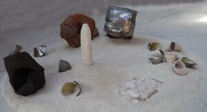 Dune une installation artistique de Virgile Loyer et Alain Vuillemet