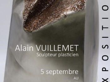 Affiche de l'exposition Ordre au chaos Alain Vuillemet musée d'art et d'histoires de Puisaye