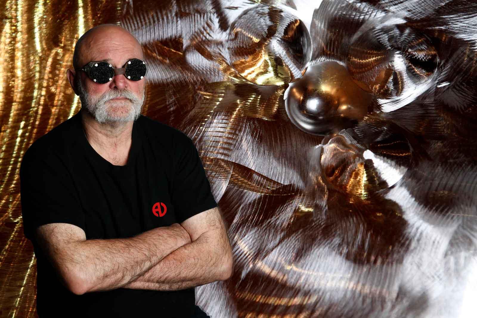 Alain Vuillemet sculpteur portrait de l'artiste
