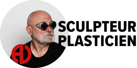 logo du site du sculpteur Alain Vuillemet